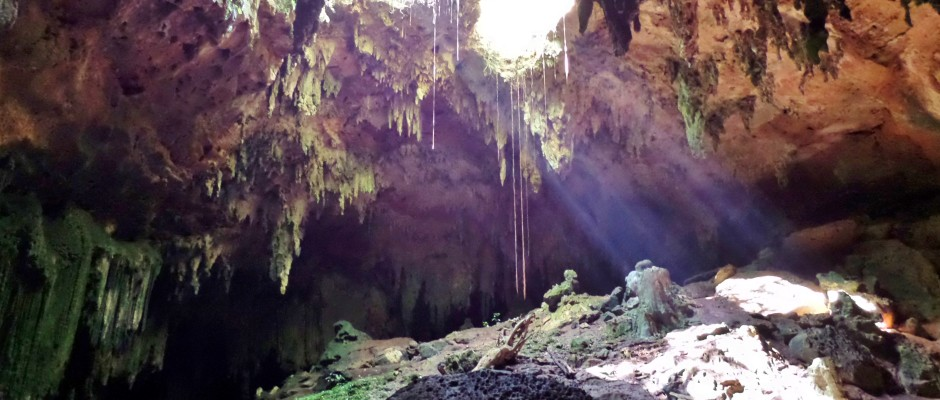 Lol-Tun Caves Mexico