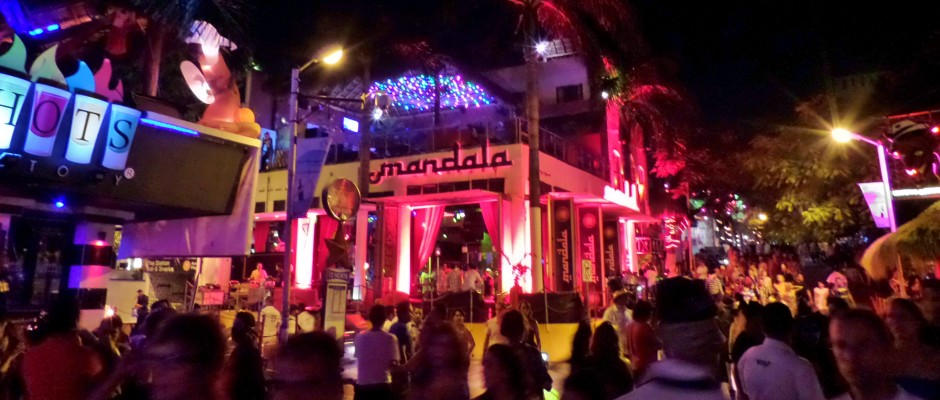 Playa Del Carmen, Nightlife, Night time, clubs