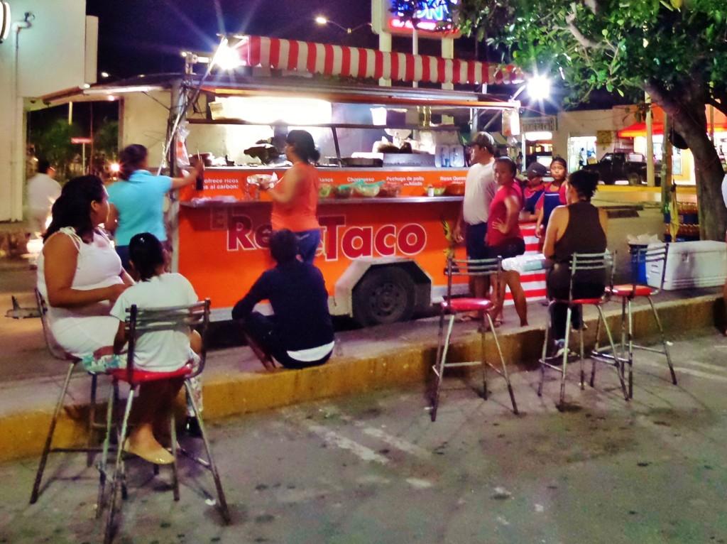 Arrachera, Tacos, Playa Del Carmen, El Rey Del Taco, Mexico, Street Food