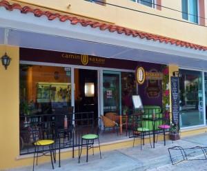 Camino Ka Kaw Playa Del Carmen Chocolate restaurant 5th Avenue