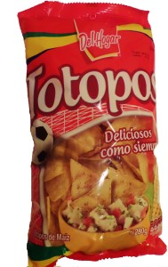 totopos chips Mexico