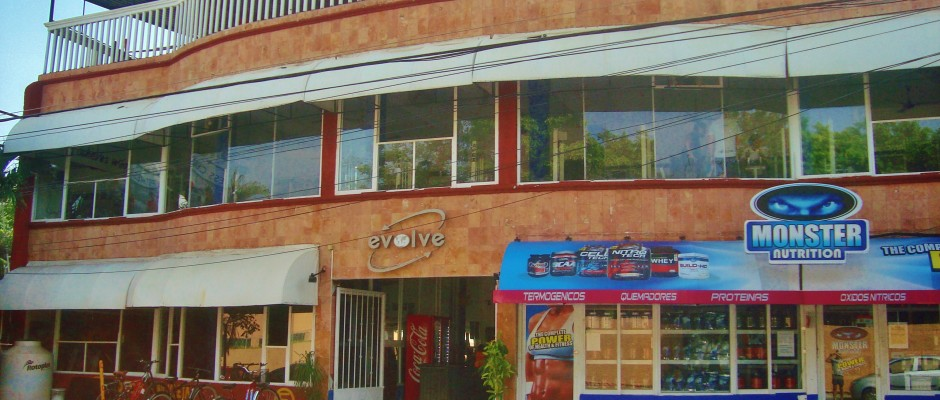 Evolve Gym in Playa Del Carmen 6th Street
