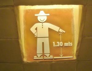 Funny signs in Playa Del Carmen Mexico