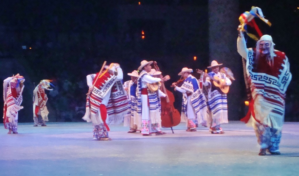 Xcaret Show in Playa Del Carmen Mexico