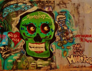 Street art in Playa Del Carmen