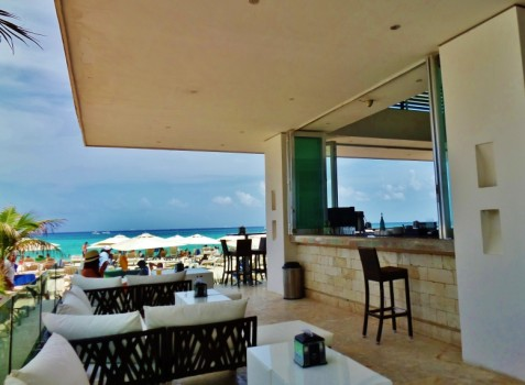 Mamitas Beach Club in Playa Del Carmen Mexico