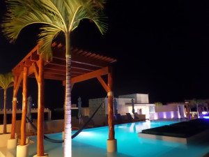 The Roof Club at the Palm Hotel Playa Del Carmen Mexico