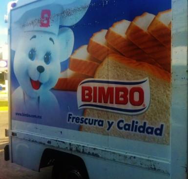 Cartoon ad in Playa Del Carmen