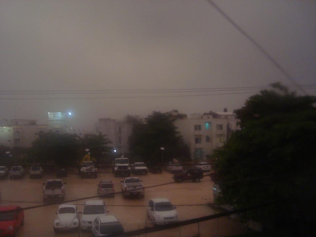 tropical storm Playa Del Carmen Mexico