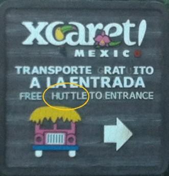 Funny signs Playa Del Carmen