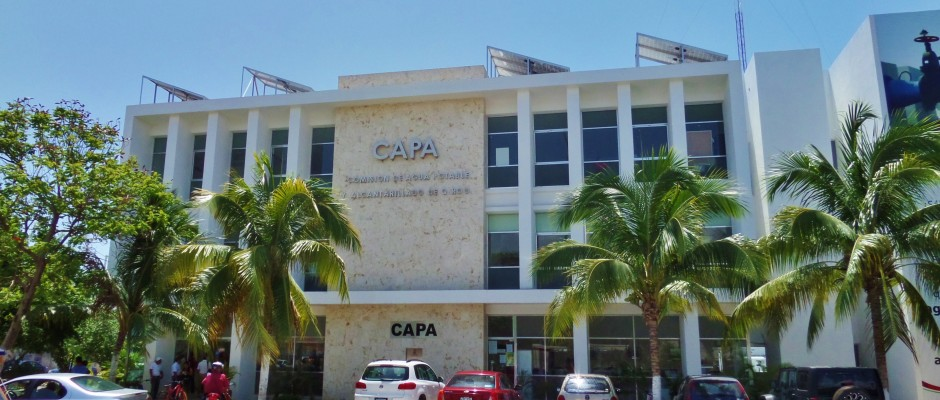 Water Department in Playa Del Carmen
