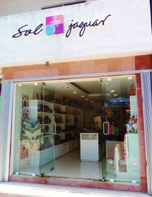 Sol Jaguar shop Playa Del Carmen Mexico