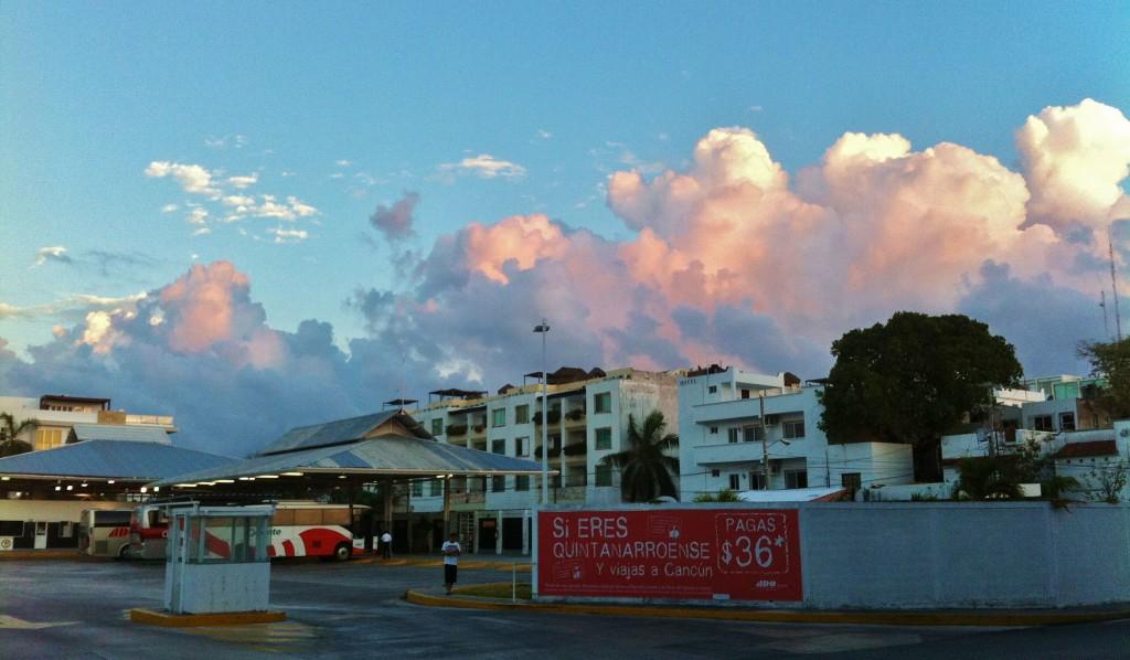 Clouds in Playa Del Carmen