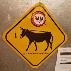 Funny sign Playa Del Carmen Mexico