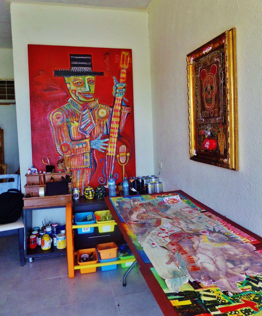 Jacobo Roa artist in Playa Del Carmen