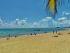 The beach in Playa Del Carmen
