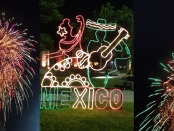 Celebrating Mexican independence day in Playa Del Carmen