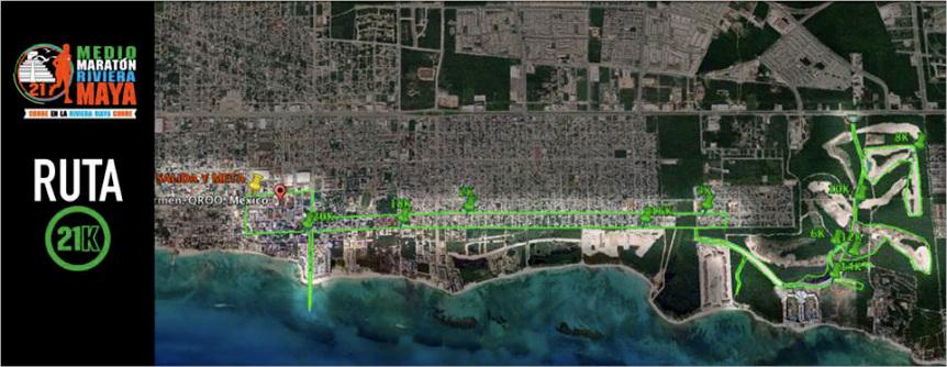 Riviera Maya Maraton in Playa Del Carmen