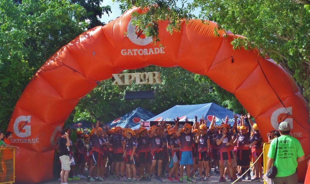 Xplore Bravest Race 2014 Playa Del Carmen
