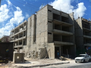 Construction in Playa Del Carmen