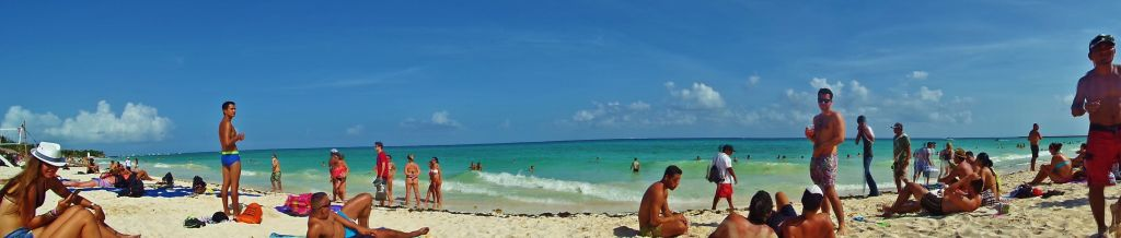 Gay beach in Playa Del Carmen