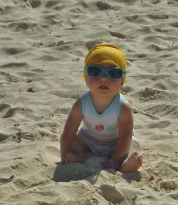 BEach Baby in Playa Del Carmen
