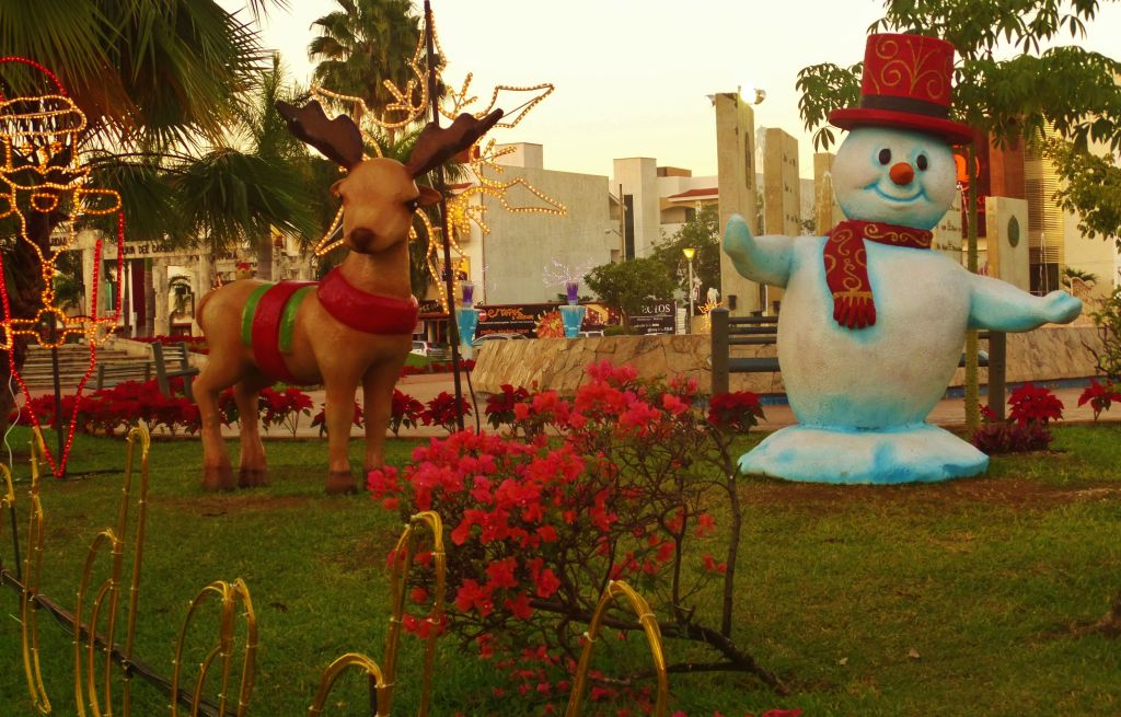 Christmas in Playa Del Carmen