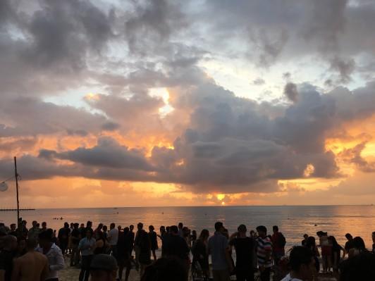 New Years Day in Playa Del Carmen