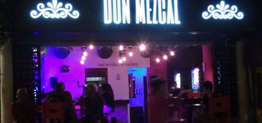 Don Mezcal Bar in Playa Del Carmen