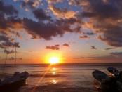 Sunrise photo in Playa Del Carmen