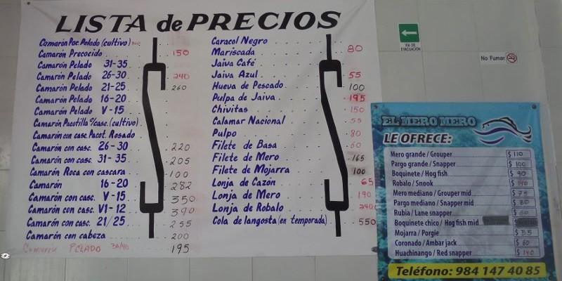 Seafood Market Playa Del Carmen