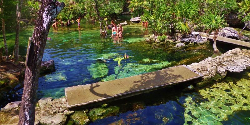 Cenotes close to Playa Del Carmen