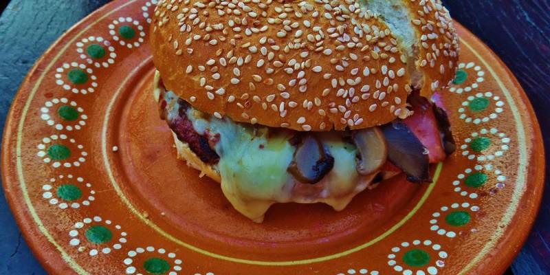 The Biker House Ruta 307 Hamburgers