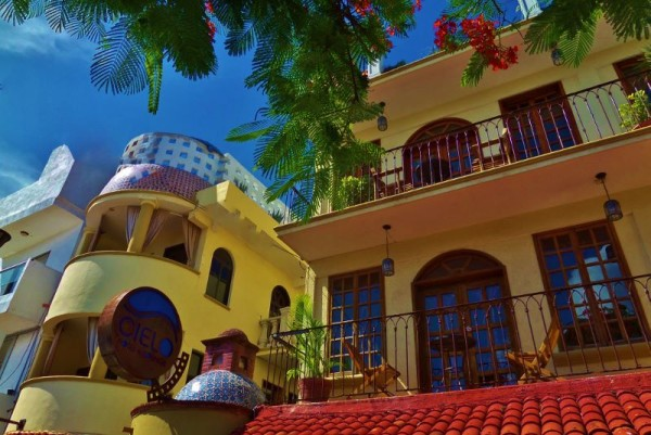 Hotel cielo the mexican feeling boutique hotel in playa for Best boutique hotels playa del carmen