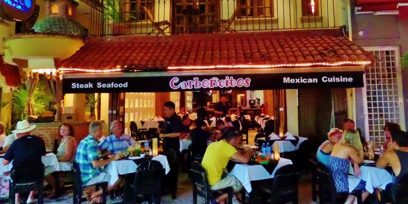 Carboncitos Restaurant Playa Del Carmen