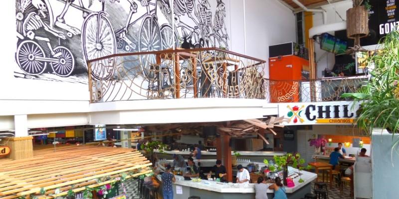 Mercado Paseo Del Carmen food market