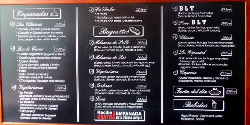 Antico Empanadas Playa Del Carmen