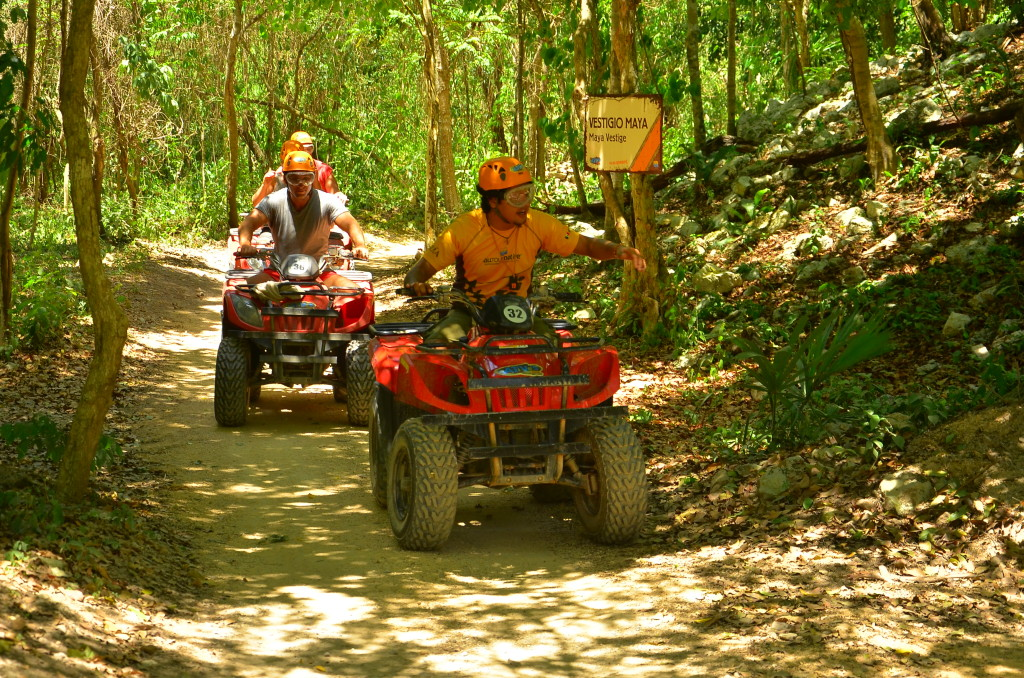 alltournative ATV tour Playa Del Carmen