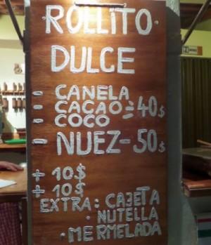 Rollito Dulce in Playa Del Carmen