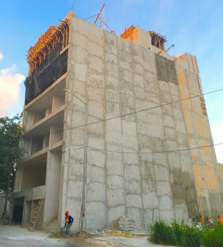 The IT Condo Building Playa Del Carmen by GMB
