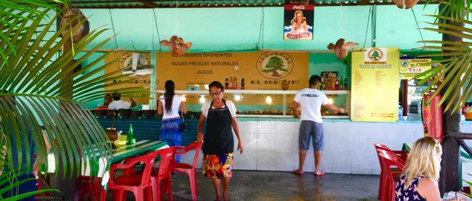 El Arbolito Taqueria tacos Puerto Aventuras