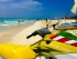 A nice sunny day at the beach in Playa Del Carmen, Mexico