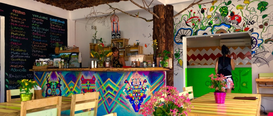 Clorofila Restaurant Vegan and Vegetarian Playa Del Carmen