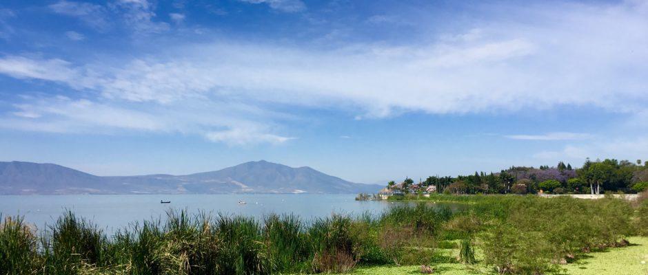 The lake just outside of Chapala.