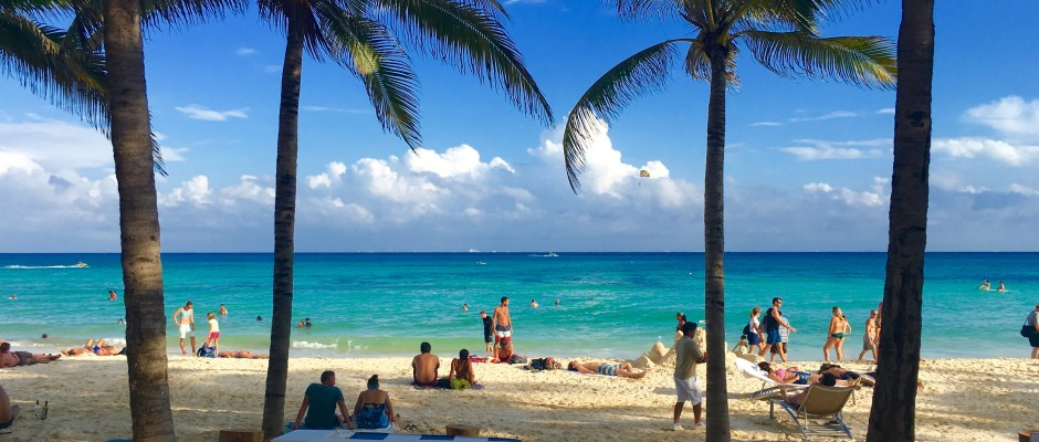 Beach clubs in Playa Del Carmen