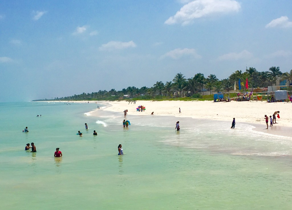 visiting the Yucatan