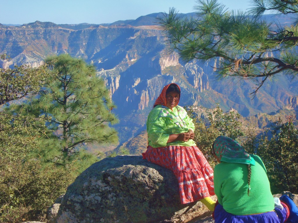 visiting Mexico at the Copper Canyon