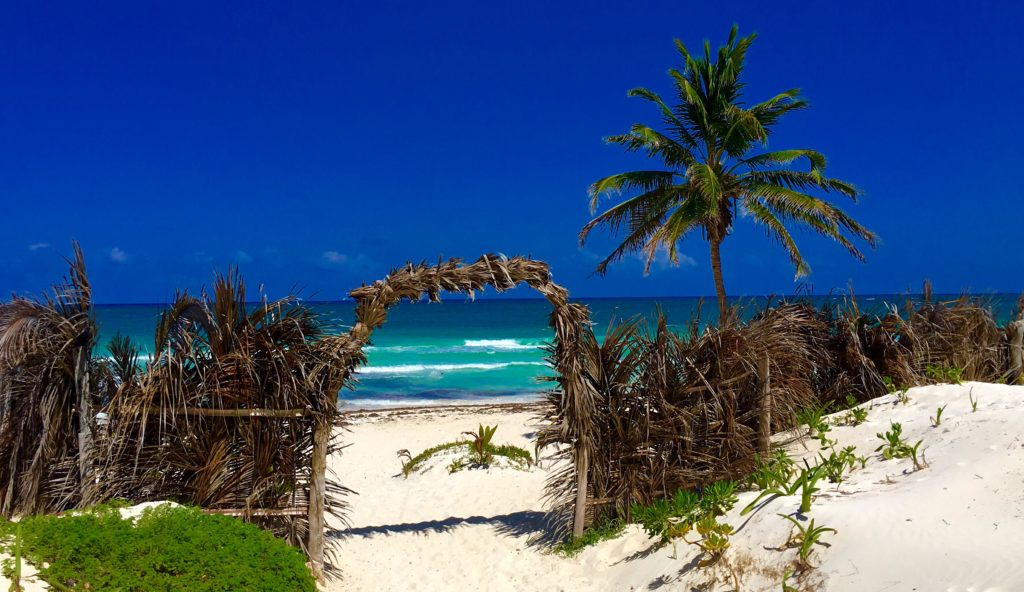 Playa Akun ia a Tulum beach, Best beach to visit