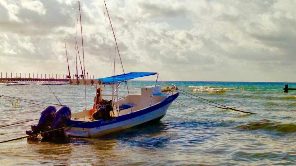 Playa del carmen fishing tour with la reina for How to not get seasick on a fishing boat