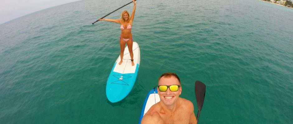 Paddle board rentals in Playa Del Carmen